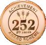 252 20 yards badge
