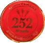 252 50 yards badge