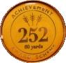 252 60 yards badge